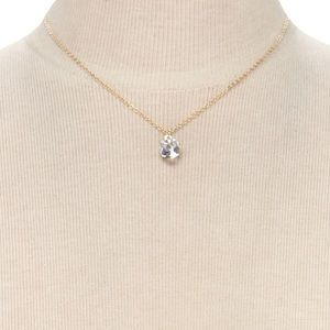 Forever 21 Faux Crystal Necklace